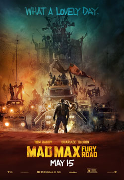 Mad Max Fury Road plakat poster