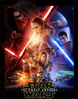 Gwiezdne Wojny VII Plakat